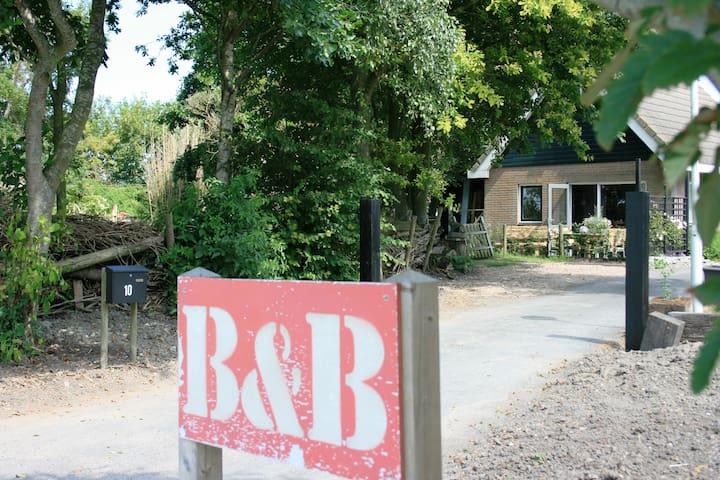 B&B en guesthouse Olling Art Inn - Barsingerhorn - Ev