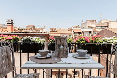 Luxury Romantic Rooftop Home Spanish Steps - 罗马 - 公寓