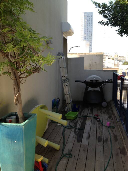 Roof terrace & BBQ