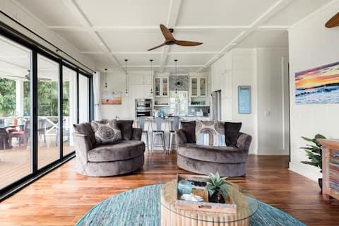 Luxury Honu House Walking Distance to Poipu Beach