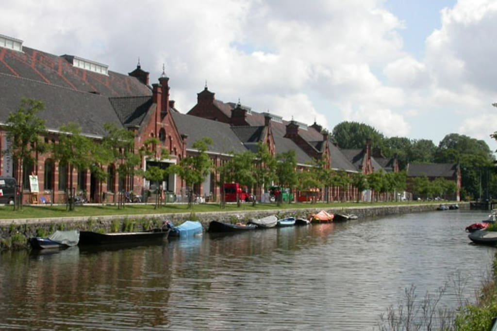Westerpark, great for relaxing, drinks and dinner