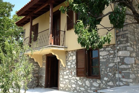 Traditional renovated studio 40sqm - Thasos - Daire