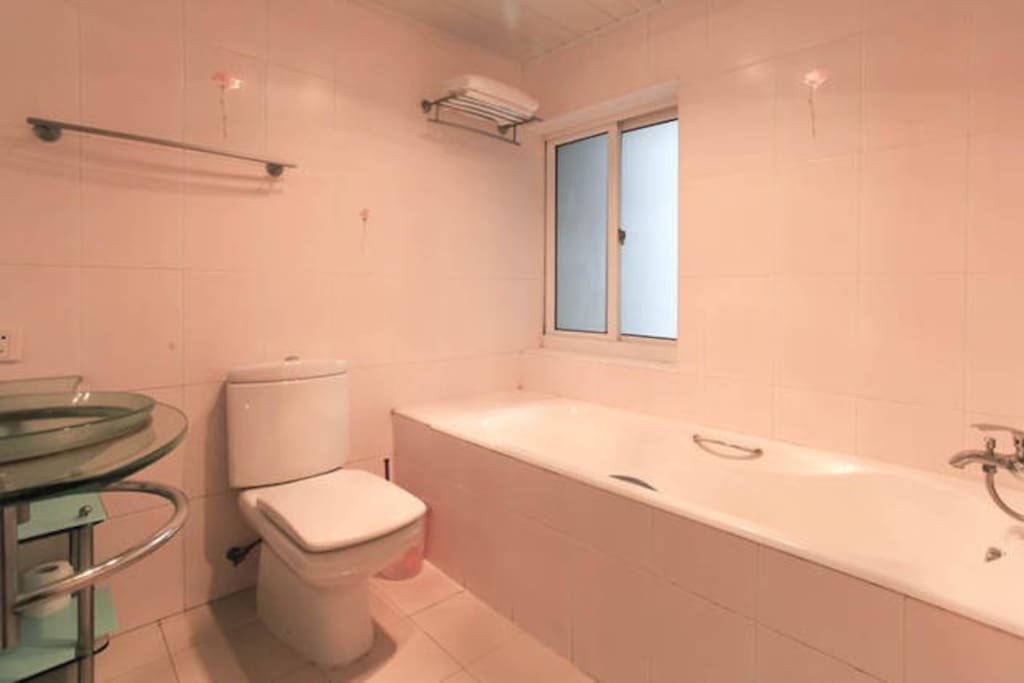 Private bathroom with heating etc