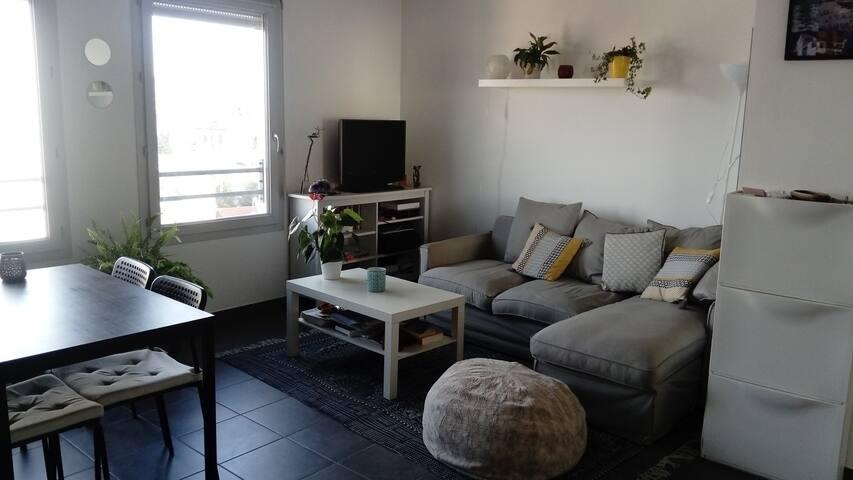Joli appartement t2 Lyon 8