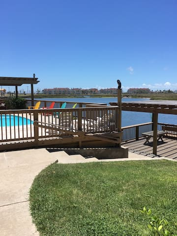 North Padre waterfront w boatslips! - Corpus Christi - Apartament