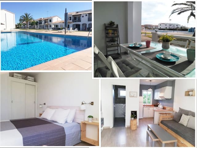 Your new apartment in Menorca close to the beach