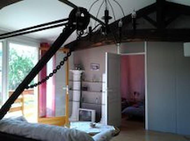 Loft charmant dans le Médoc - Queyrac - Apartamento