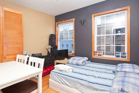 Downtown JC 3rd st. [Zeze House] - Bright Room #1 - Jersey City - Apartment