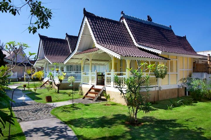 Indonesian Wooden House in Sanur