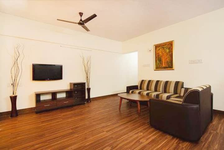Modern Furnished 3 BR Apartment - Hub of Chennai