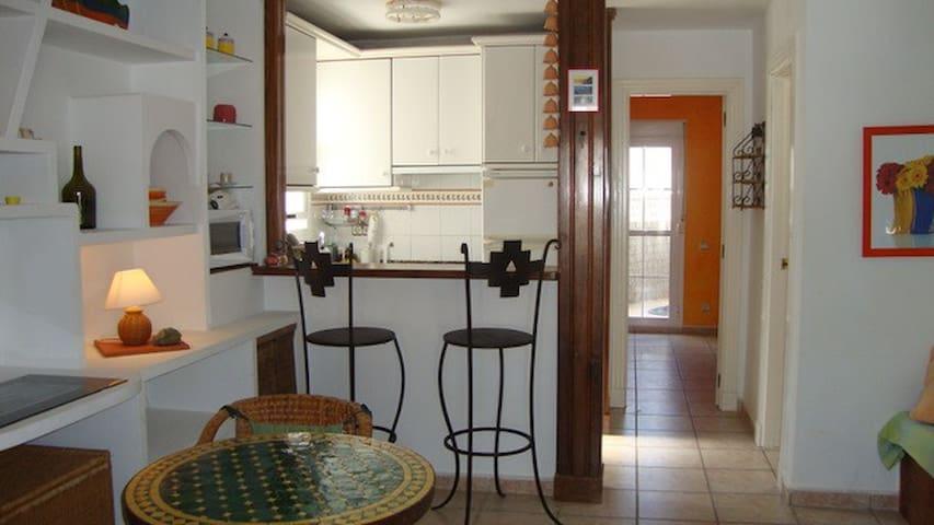 """Apartamento """"candela"""" en la playa  - Las Negras"""
