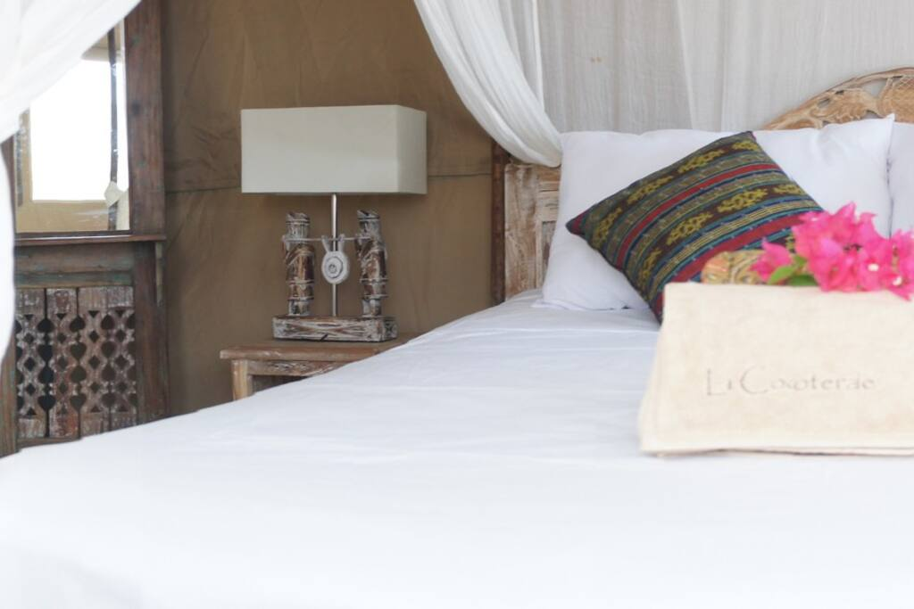 Come and try the 'Glamping'