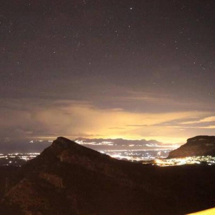Il panorama che si vede dai nostri balconi