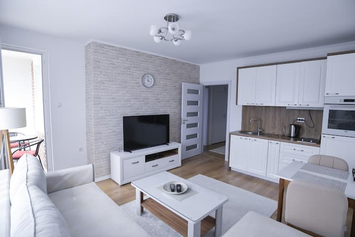 White Apartment