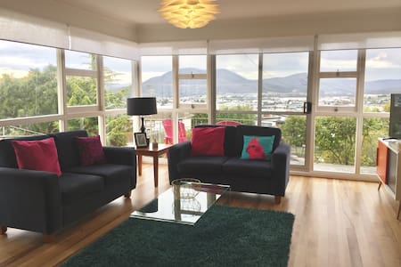 Newly renovated and retro cool, with a view!