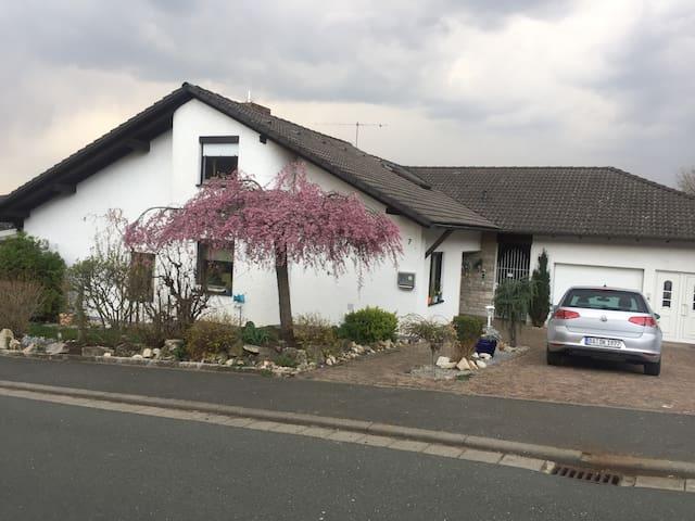 Apartment Hinterer Garten Friesen Resturlaub