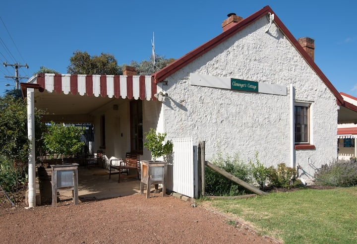 Heritage-listed Clemenger's Cottage