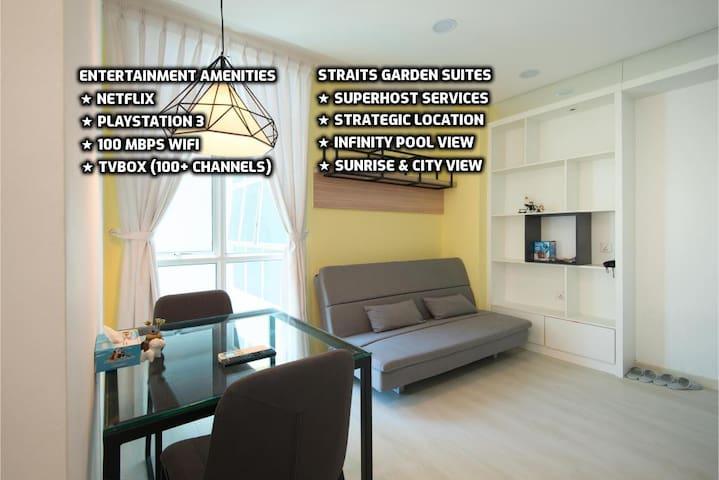 ★ Couples Getaway III★ Cozy Suite Sleeps 1~4 |海景套房