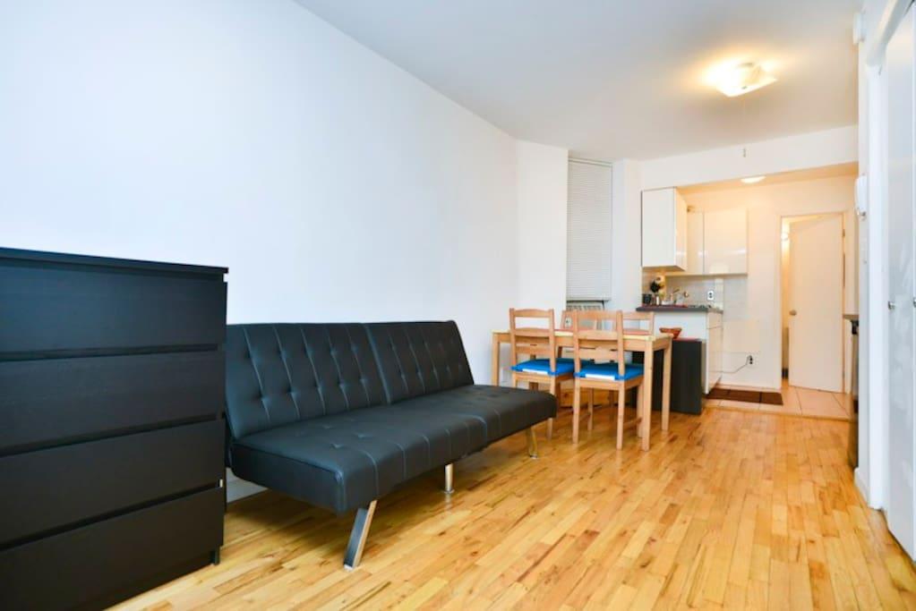 Accogliente app posizione ottimale appartamenti in for Monolocale in affitto new york