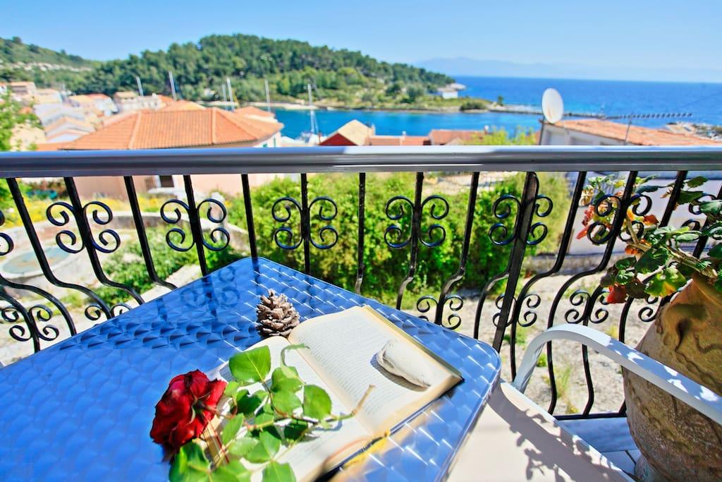 Gaios balcony view