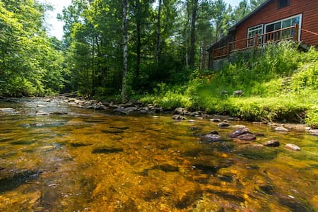 Babbling Brook Cabin, Adirondacks