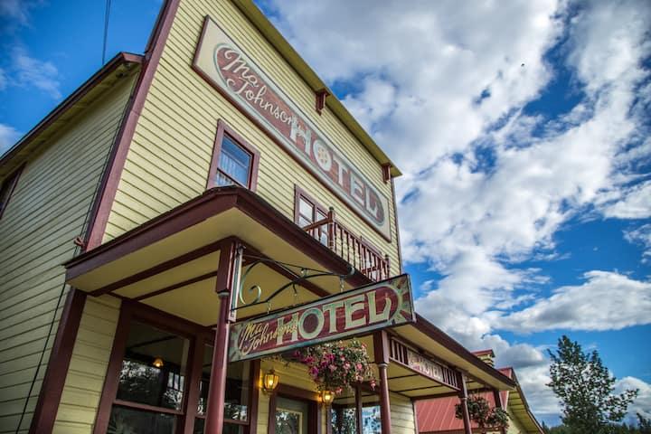 Ma Johnson's Hotel - McCarthy, Alaska