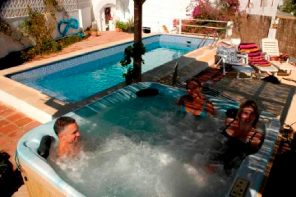 Pool and Hot Tub, shared with other guests