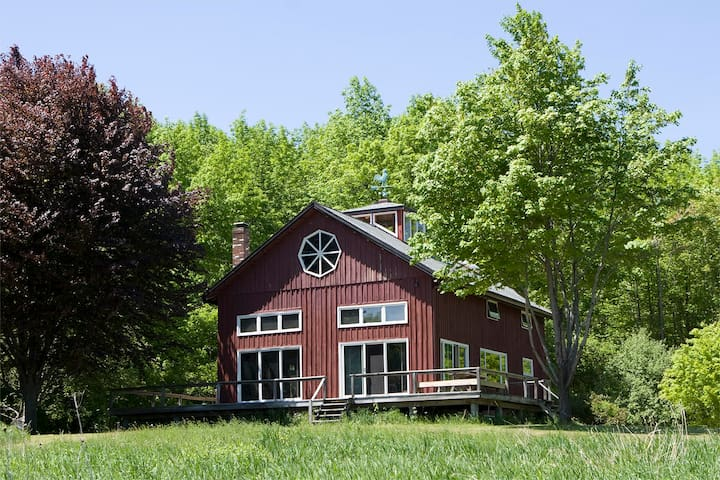 Converted Barn w/pond on 120 Acres