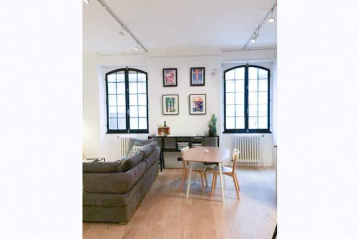 JUAN LES PINS Emplacement idéal loft 4 P, PLAGE AC