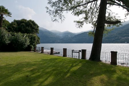 Lake facing studio apt. Dependance - Carate Urio
