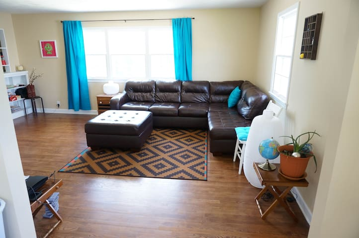 Central, private, affordable & now w/ a real bed!