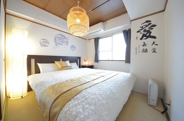 クイーンサイズベッドルーム Queen size bedroom 皇室房间 퀸 사이즈 침대룸