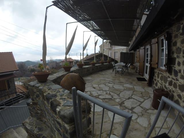 """H Palathkia"" - Amazing Village House in Platres"