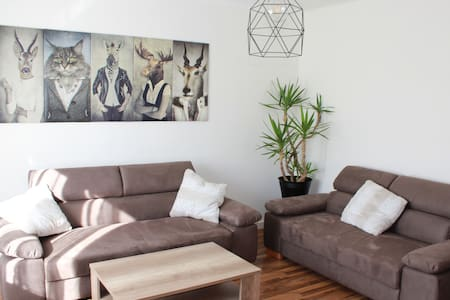 Cozy, bright appartment near lake St. Leonhard