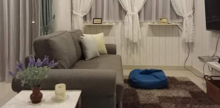 2BR Spacious Pretty Home in Kuningan, Jakarta