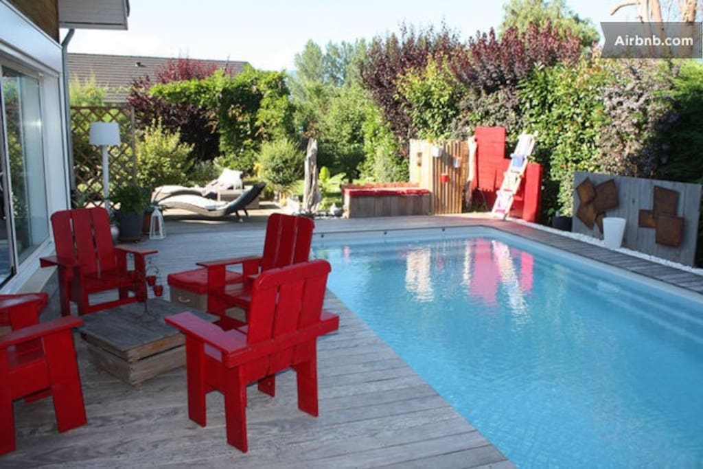 Maison piscine chambery ch bleue maisons louer for Piscine chambery