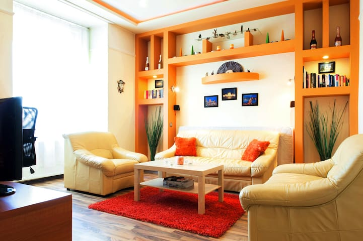 Lovely flat near to Heroes' Square - Budapeşte - Daire