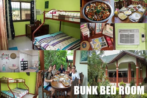 BB- Riverside at Aninuan accommodation and Food