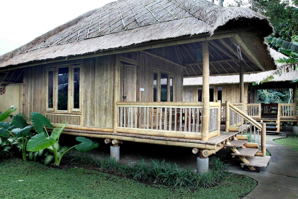 Bamboo House Feature