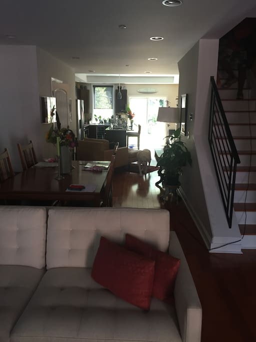 Shared dining/kitchen