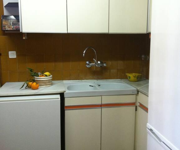 cocina, espacio compartido