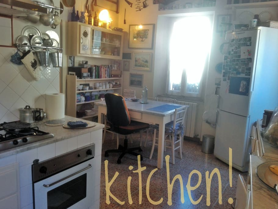 la cucina - the kitchen - la cocina -