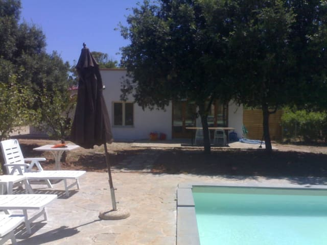 The Pool House, private pool and free Wi-Fi - Guardia Grande - Casa