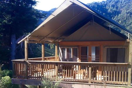 Luxury Mountain Tent - Waitotara Valley - Ngamatapouri - 自然小屋