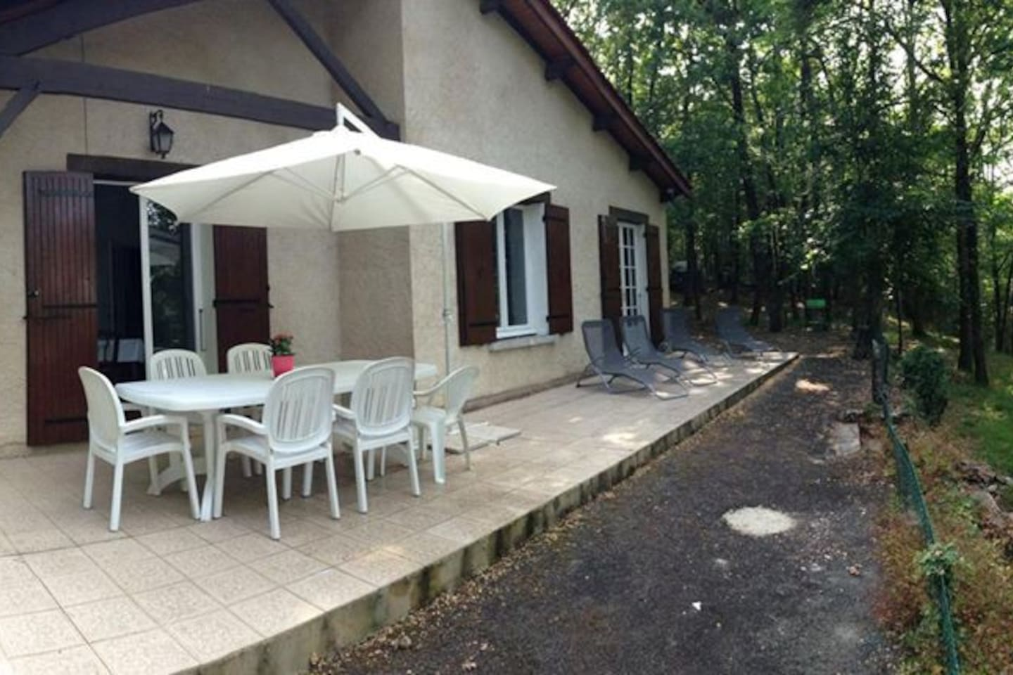 cozy cottage in the Perigord, view