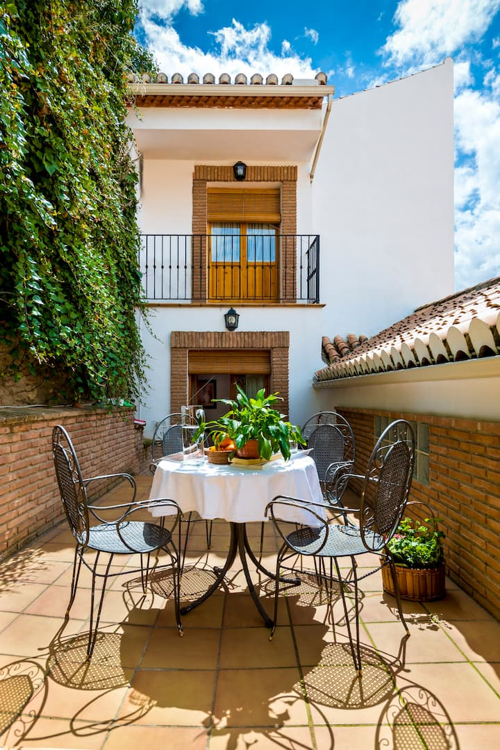 Bonito duplex con terraza privada Albaicín-Centro