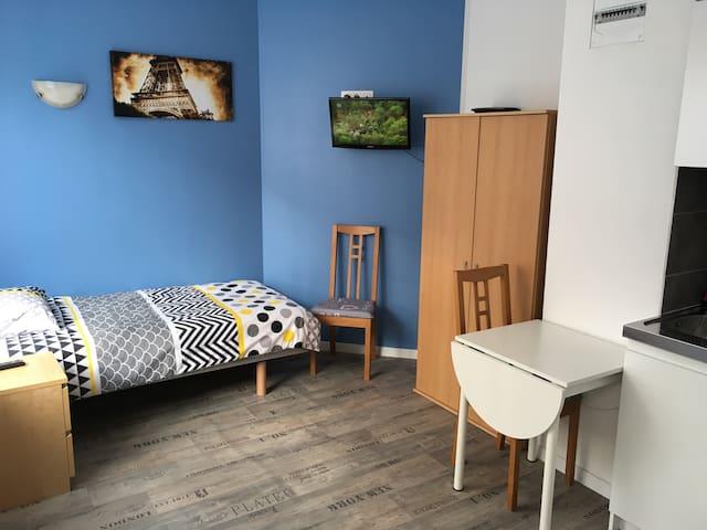 Studio 2 meublé situation idéale - Longwy - Byt