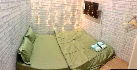 Rent Room AC,TV & WIFI in Central city -Cilacap