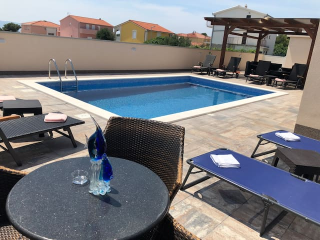 Economyc Apartment 3  with pool Villa E.T.A Ciovo