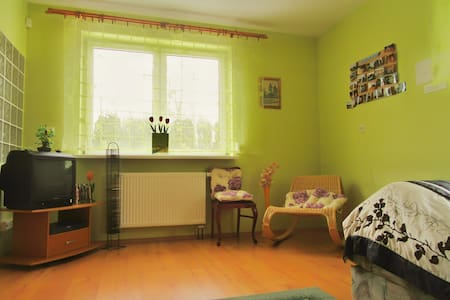 Cozy apartment for 1-2 per. in a very quiet area - Łódź - Apartment
